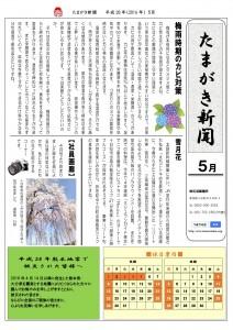 たまがき新聞_H28-05